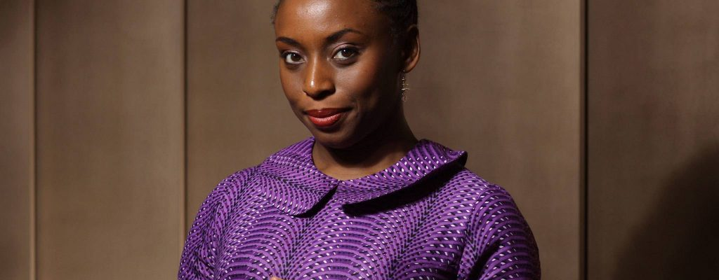 Chimamanda Receives a Humanitarian Award from Action Against Hunger