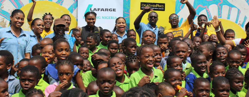 OkadaBooks Digital Literacy Outreach in Partnership with Lafarge