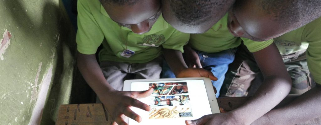 Donate a Phone to Help a Child Discover the Joy of Reading.