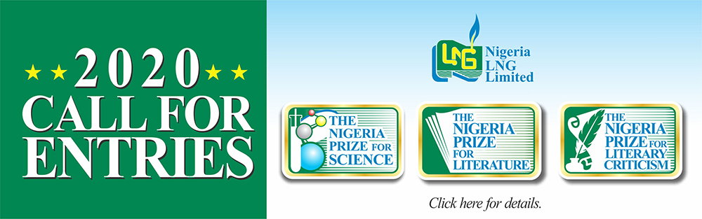 Call For Submissions For The 2020 Nigeria Prize For Literature, Literary Criticism, and Science