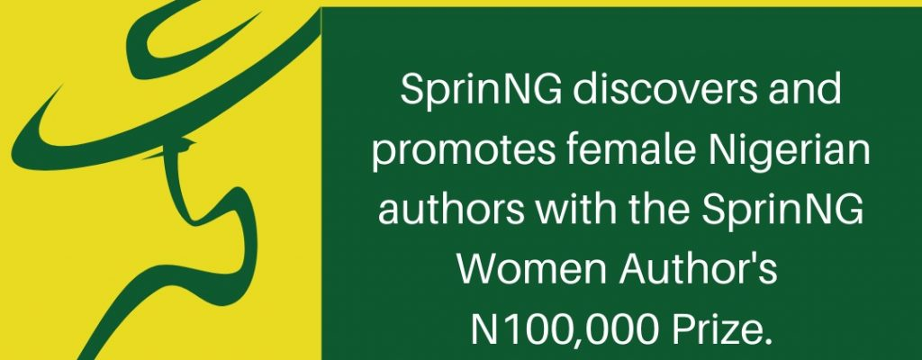 Get Ready, SprinNg Women Author's Prize (SWAPng) is coming!