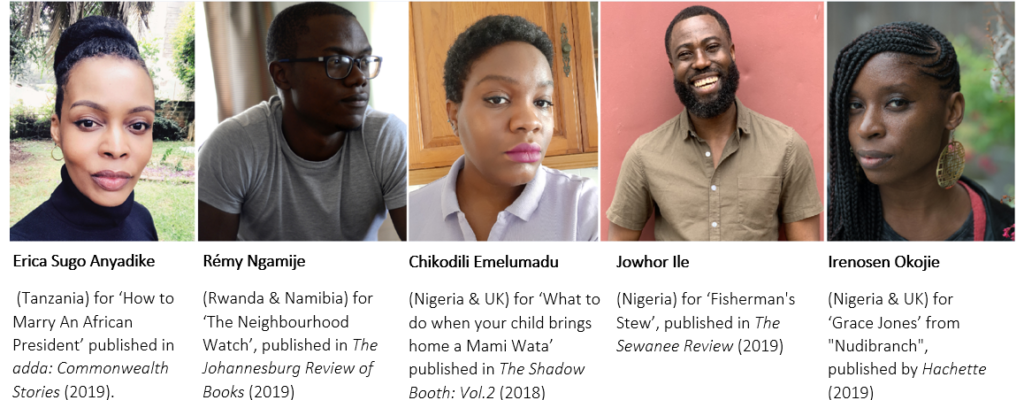 Meet The Shortlisted Creatives For The 2020 Ako Caine Prize For African Writing
