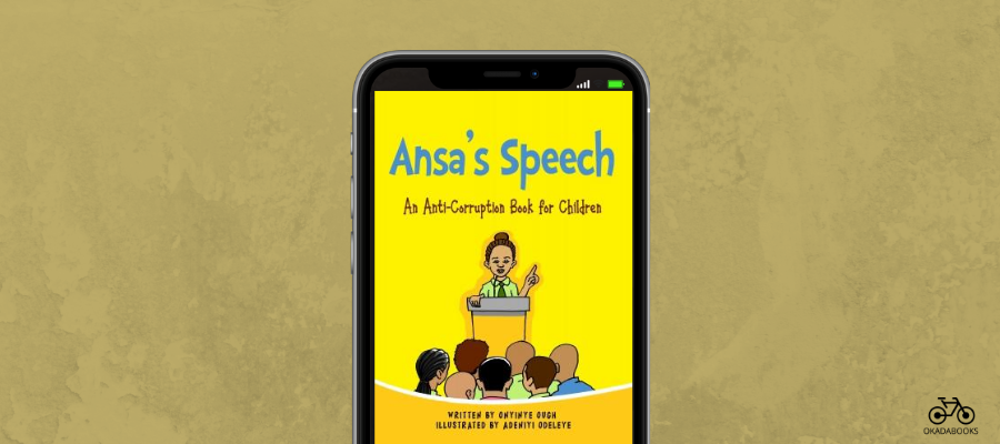Ansa's Speech Is Onyinye Ough's Latest Contribution Towards Eradicating Corruption In Nigeria