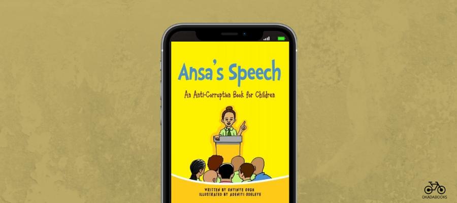 Ansa's Speech Is Onyinye Ough's Latest Contribution Towards Eradicating Corruption In Nigeria
