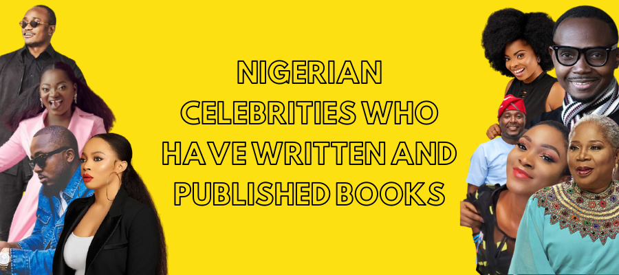 Nigerian Celebrities Who Have Written And Published Books